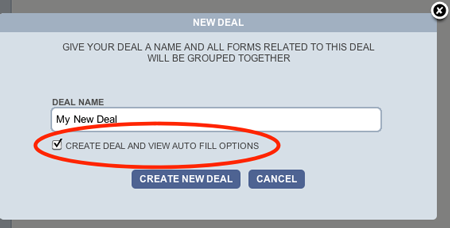 BULL Forms Colorado New Deal Auto Fill