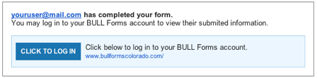 BULL Forms Colorado DORA Sharing Completed